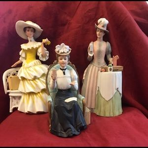 Set of 3 Avon Albee awards